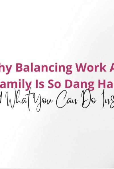 Why balancing - Masterclass